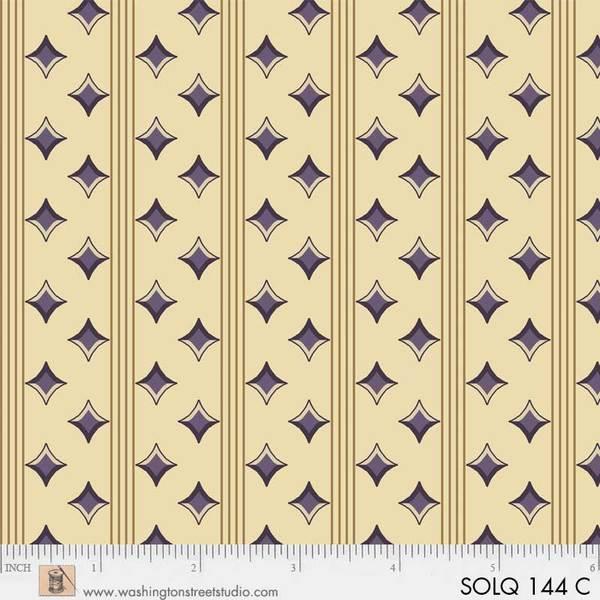 P&B Textiles SOLQ 143 C Solders Quilt Cream