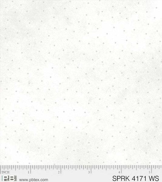 White Dot - Sparkle Suede