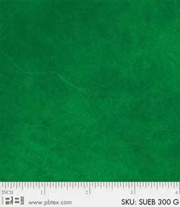P & B Suede Brights Dark Green