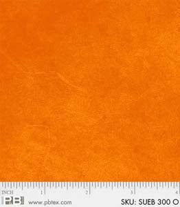P & B Suede Brights Orange