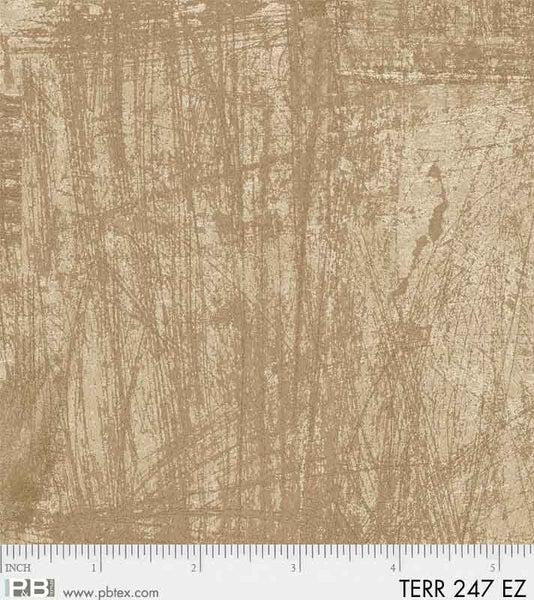 Terra by Norman Wyatt Light Brown Texture Fabric Yardage TERR247-EZ