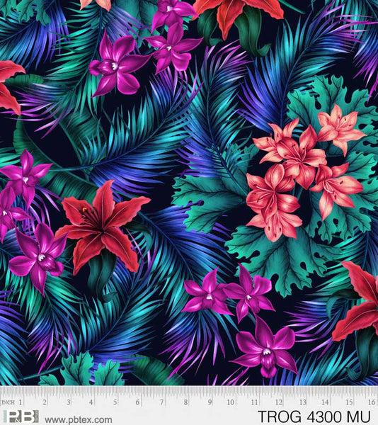 Tropic Gardens Floral #4300 MU