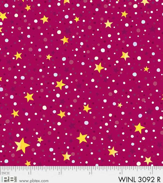 Winter Lights 3092 R Star Dot Red