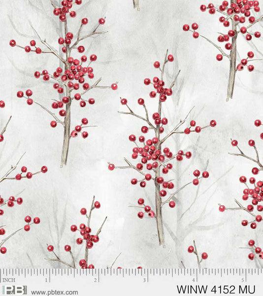 Winter Wonderland Tree Berries Multi