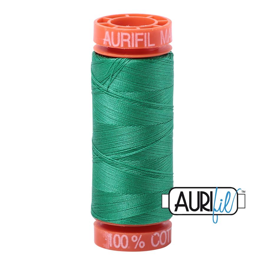 Aurifil 2865 Emerald Cotton Thread 200m