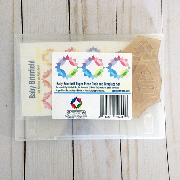 Baby Brimfield Paper Piece Pack Refill