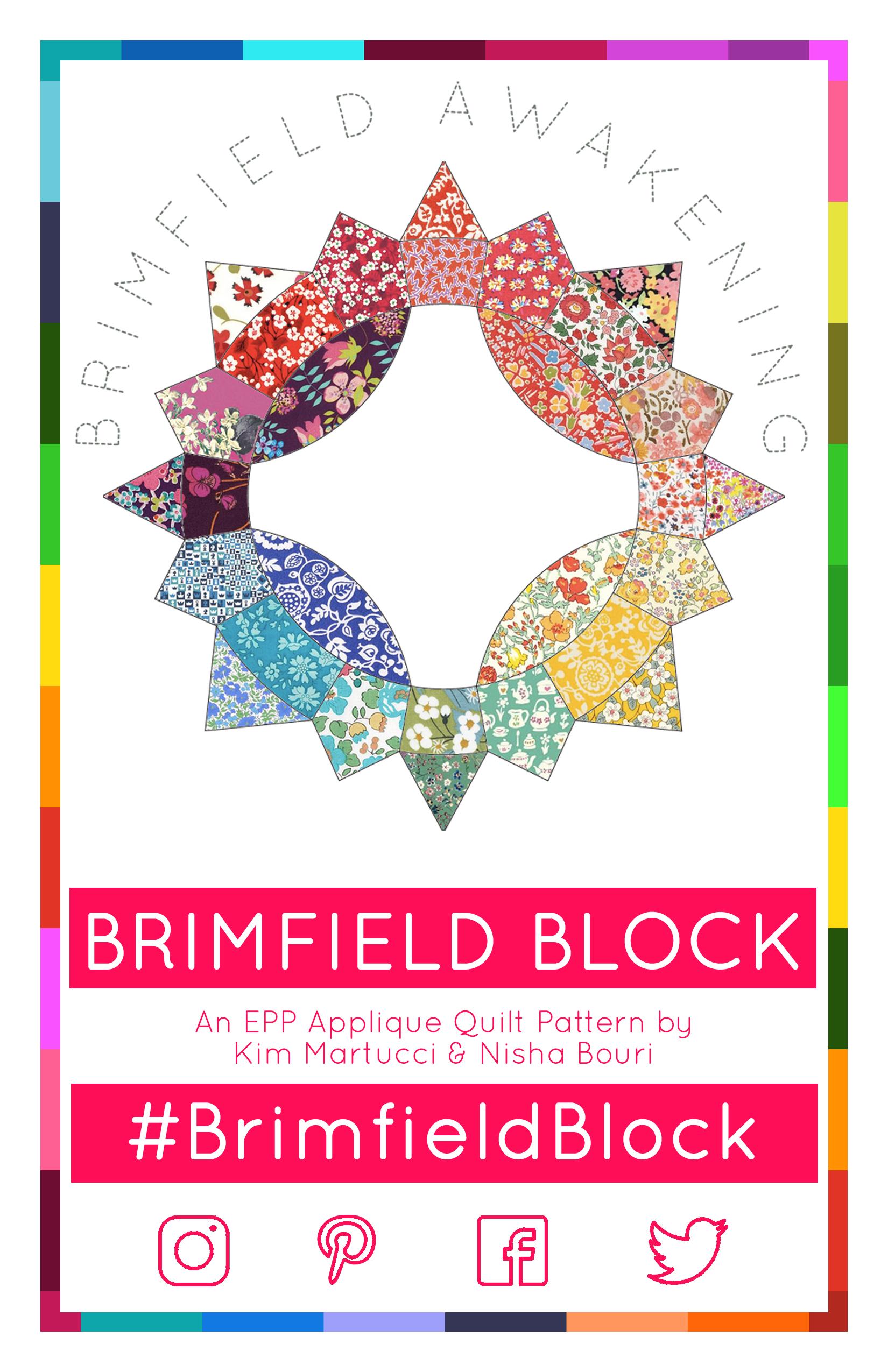 Brimfield Block Pattern by Kim Martucci & Nisha Bouri