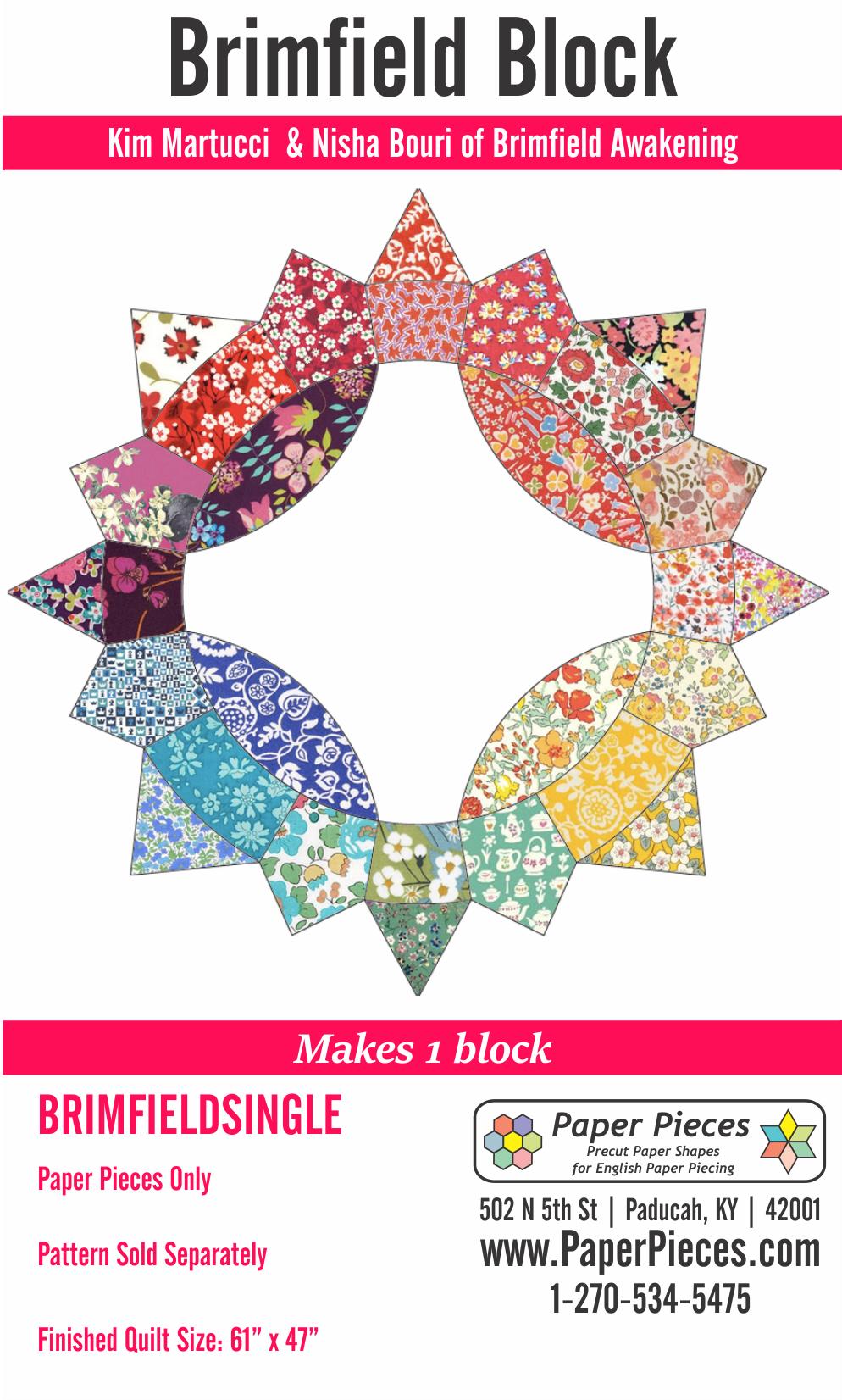 Brimfield Block Makes 1 Block