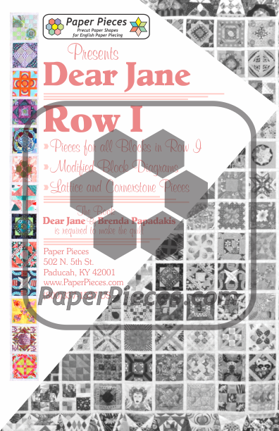Dear Jane Row I Piece Pack