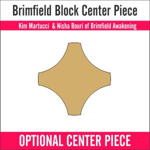 Brimfield Optional Block Center Piece (12 Pieces)