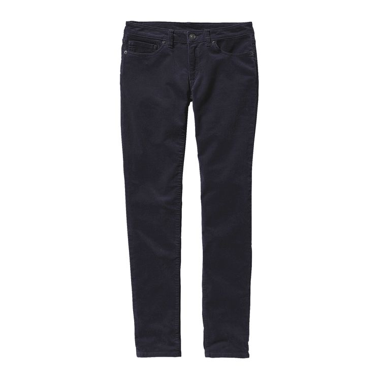 Women's Patagonia Fitted Corduroy Pants Blue SALE