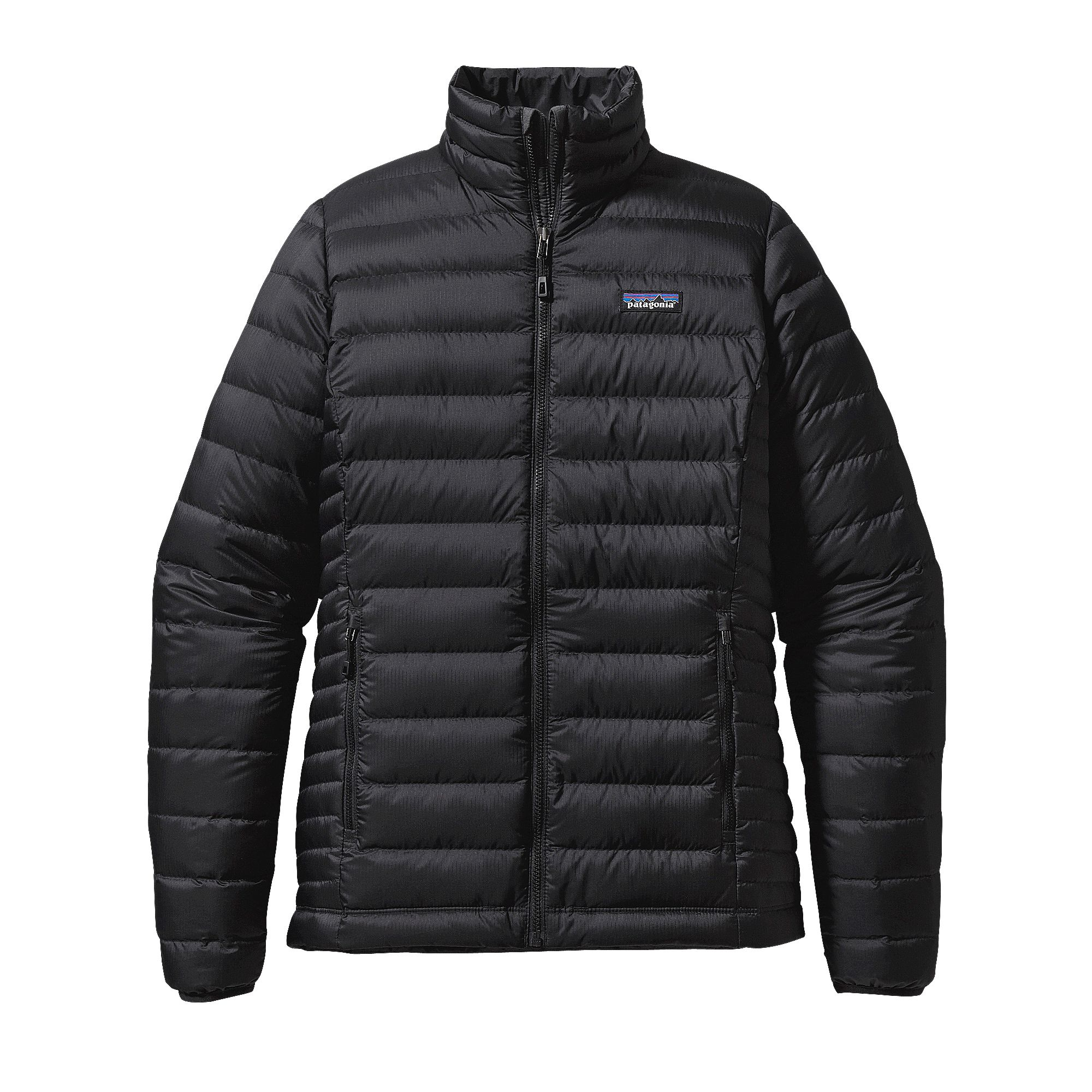 W's Patagonia Down Sweater Jacket in Black