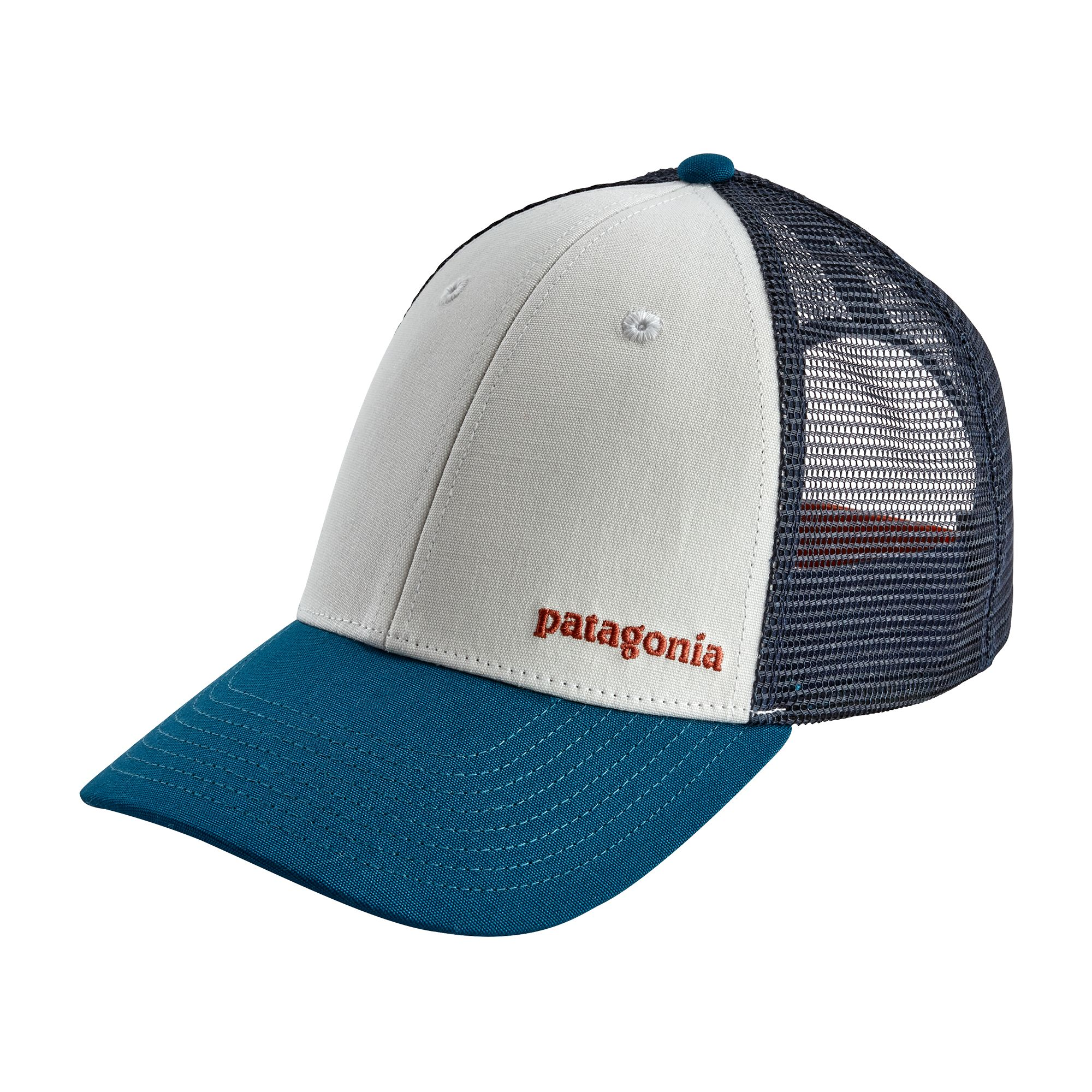 Patagonia- Small Text Logo LoPro Trucker Hat