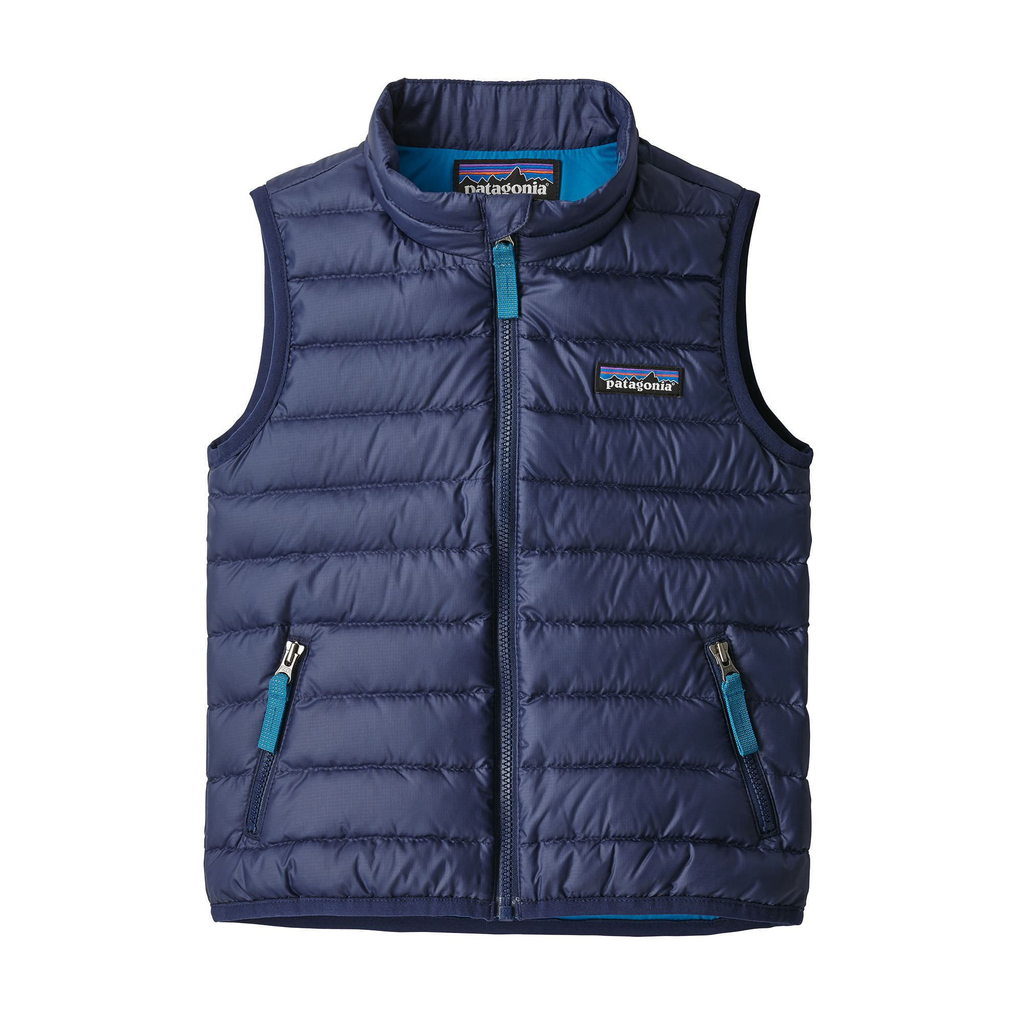 Boy's Baby Down Sweater Vest in Classic Navy
