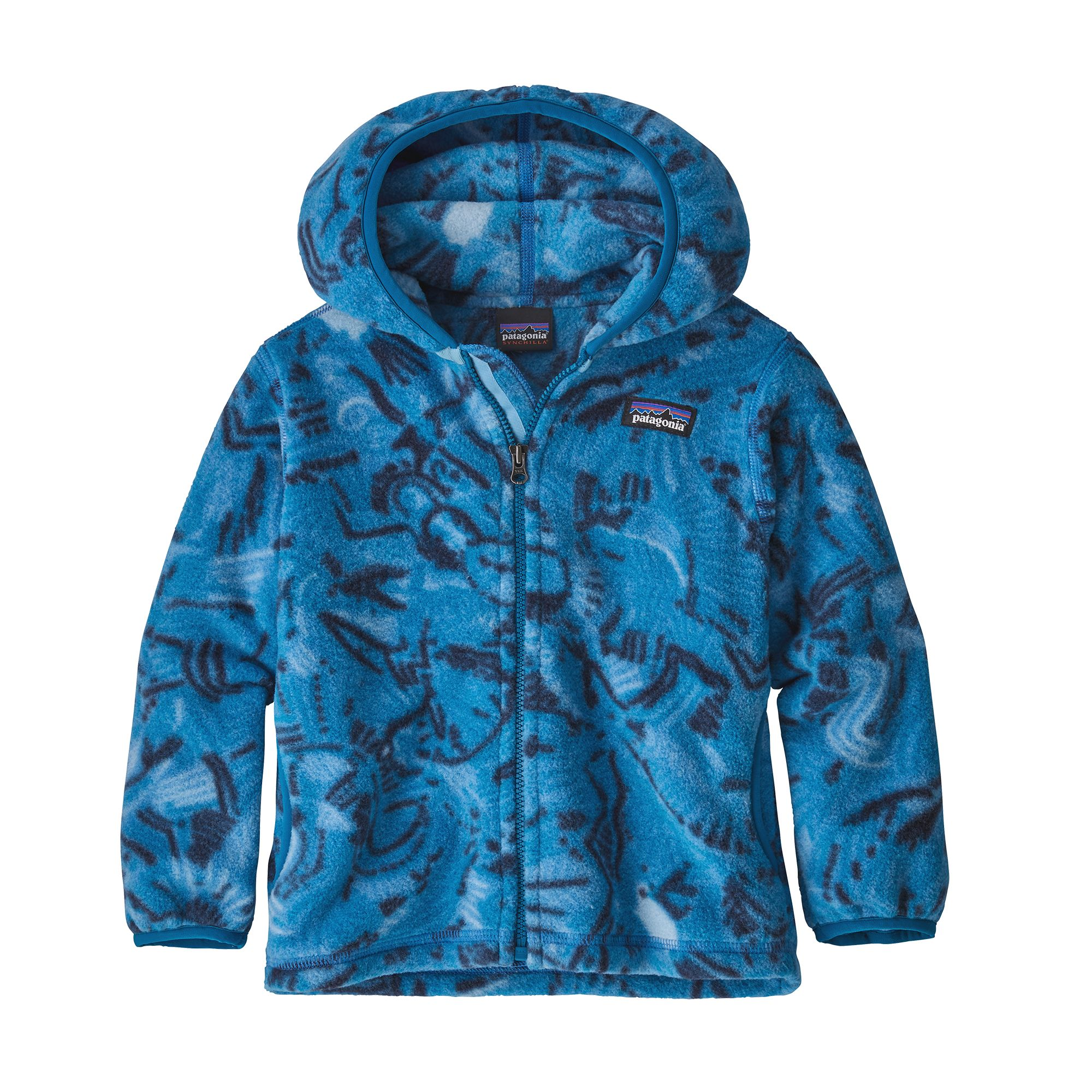 Patagonia Baby  Synchilla Hooded Cardigan