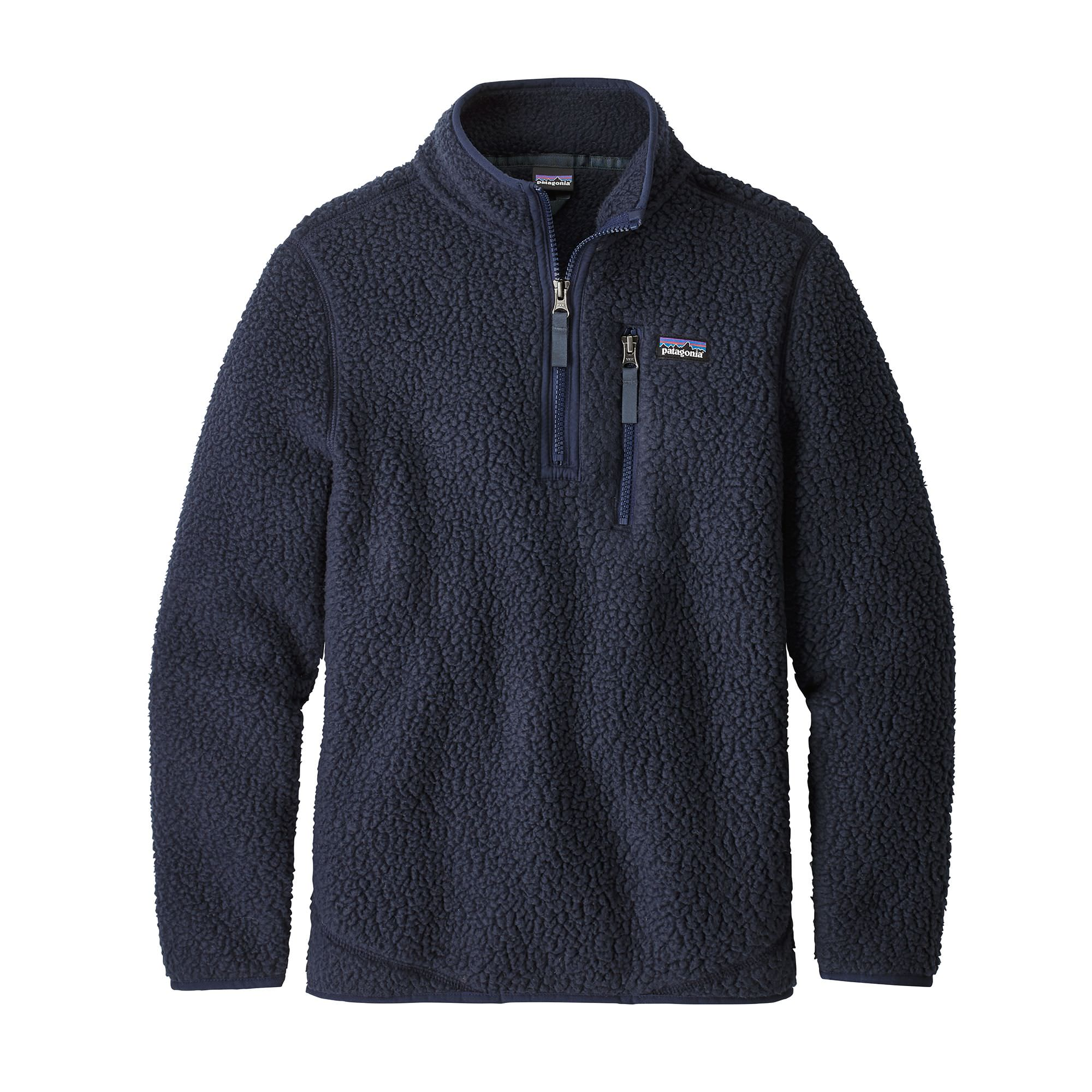 Patagonia Boy's Retro Pile 1/4 Zip