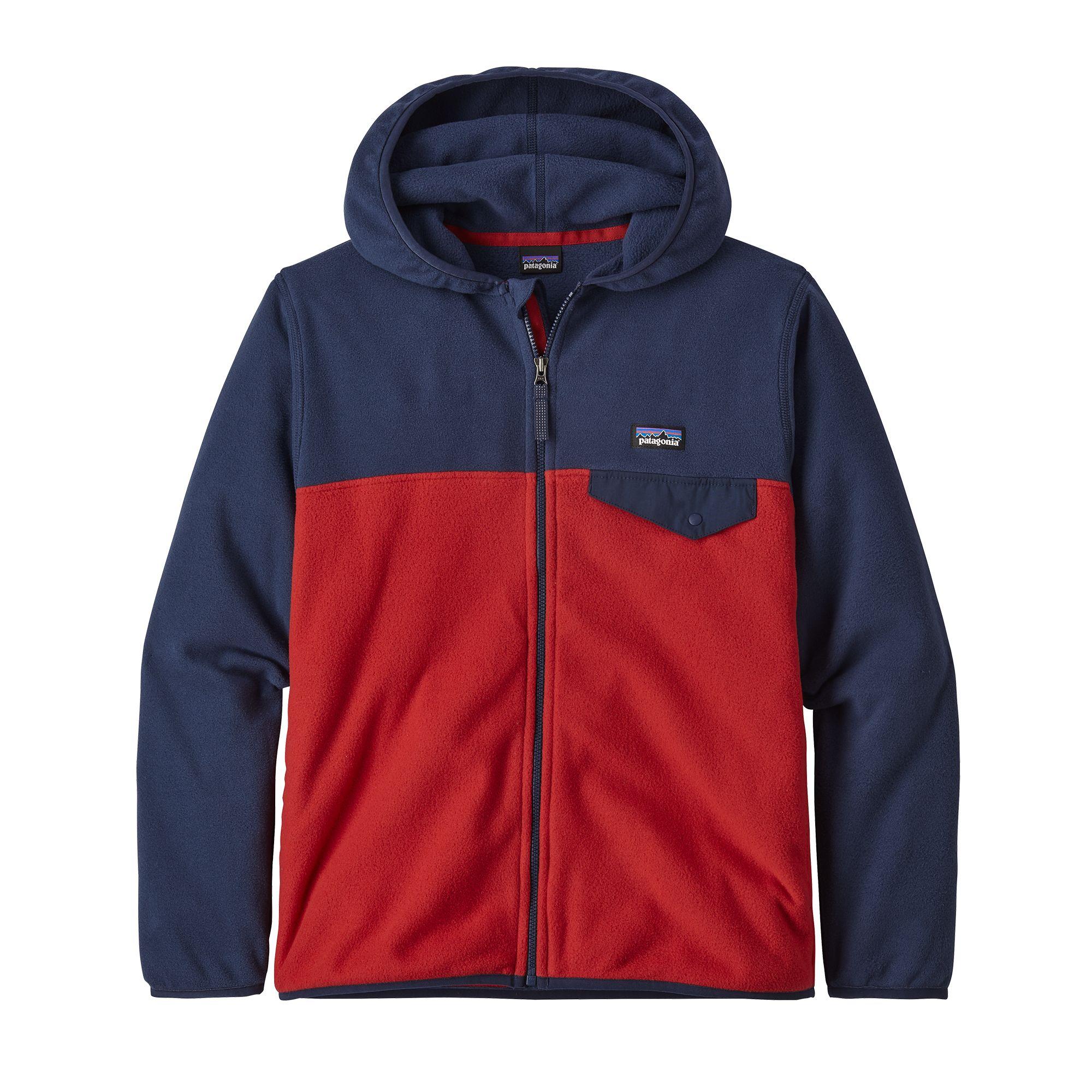 Patagonia Boys Micro D Snap-T Jacket