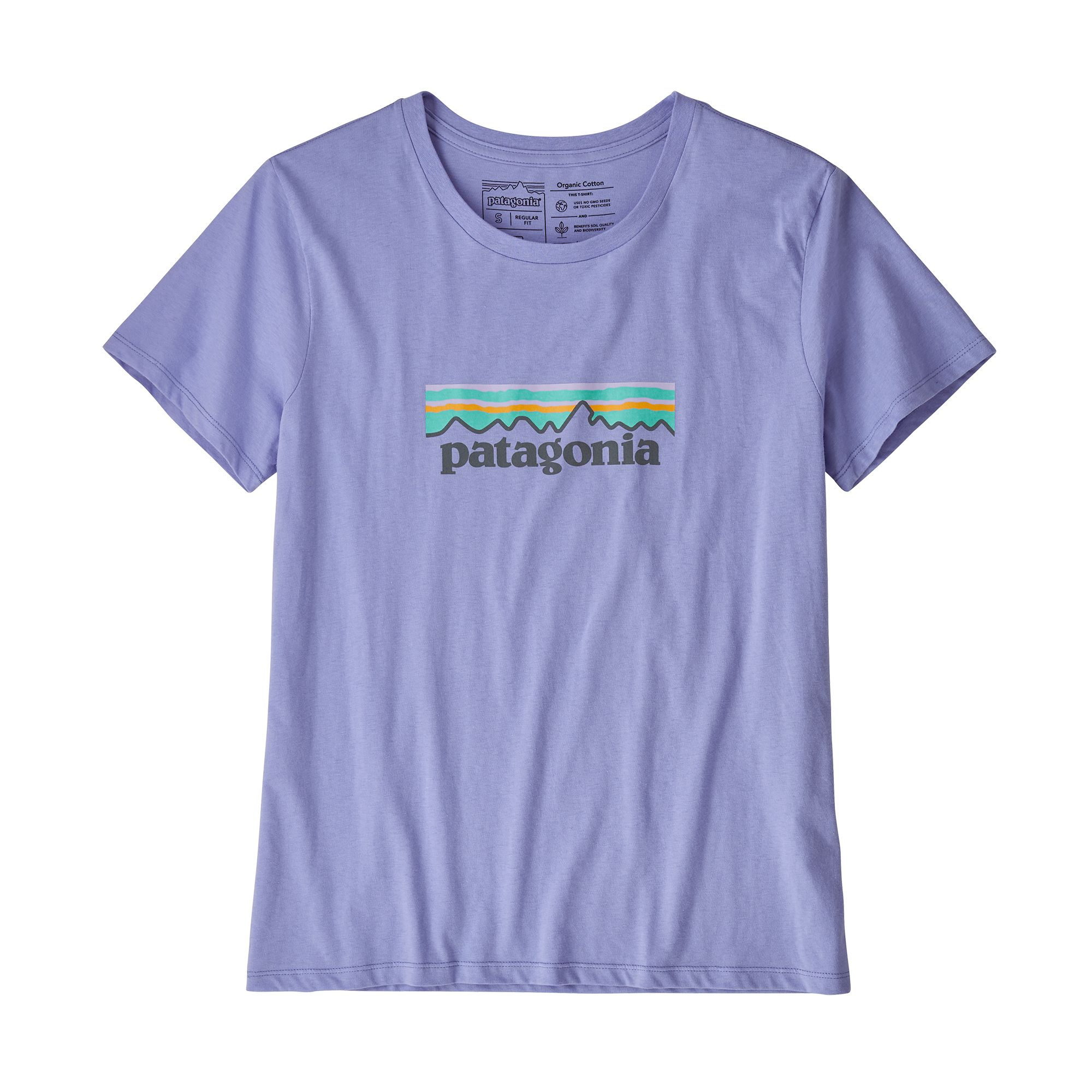 Patagonia - W's Pastel P-6 Logo Organic Crew T-Shirt