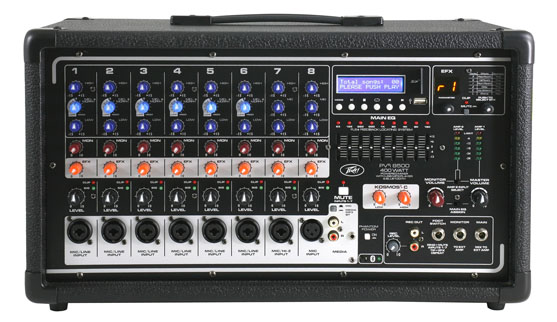 Peavey PV i 8500 powered mixer/amplifier