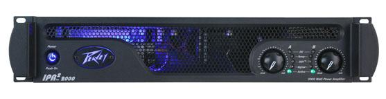 Peavey IPR 2 2000 dual channel power amplifier