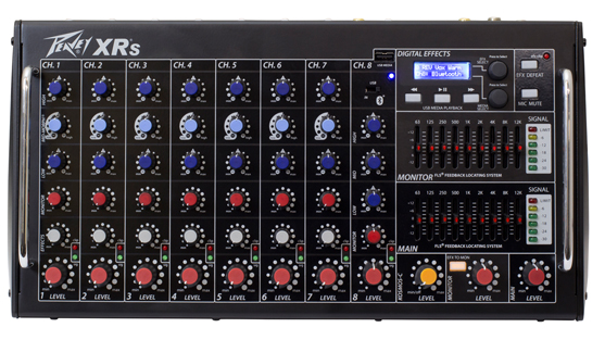 Peavey XR-S powered mixer/amplifier