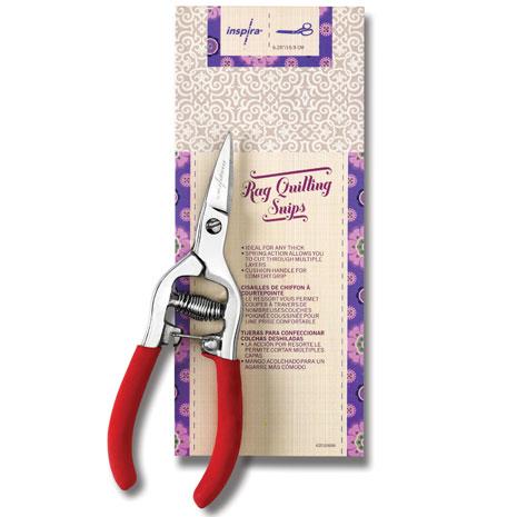 INSPIRA 6.25 Inch Rag Quilt Snip Scissors