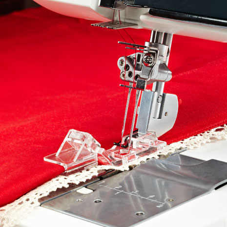 Join and Fold Edging Overlock Foot