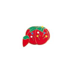 Velvet Tomato Pin Cushion