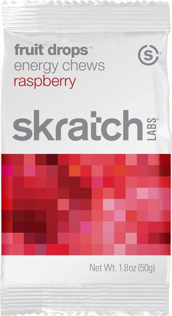 Skratch Labs Fruit Drops Energy Chews: Raspberry, 1 unit
