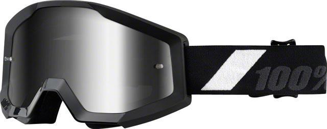100% Strata Goggle: Goliath with Mirror Silver Lens
