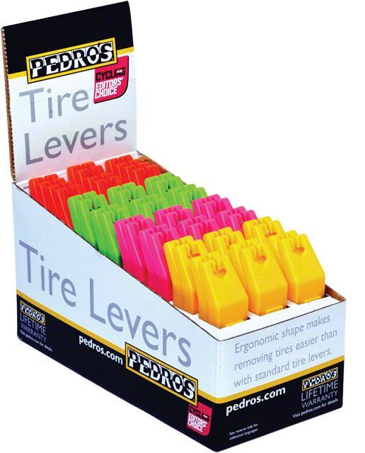 Pedro's Tire Levers: Pair of 2, Random Color
