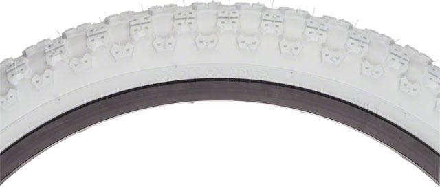 Kenda K50 Tire 20x2.125 Steel Bead White