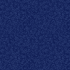 Illusions Colours CURLY CUE NAVY 21517-N