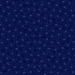 Illusions - Colours Paisley - Navy