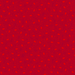Illusions Colours PAISLEY RED