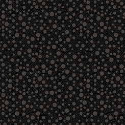 Quilting Illusions DOTS BLACK