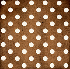 DAILY GRIND POLKA DOT BROWN 21679A Quilting Treasures QT