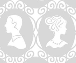 Smthng Old Smthng Ne BRIDE & GROOM CAMEOS WHITE/PLAT