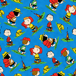 Camp Peanuts Character 22530-Y Multi