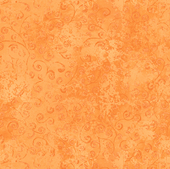 Orange Scroll Scapes