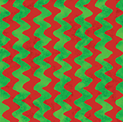 CHRISTMAS TIME ZIG ZAG STRIPE