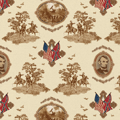 Gettysburg 1649-22756-E by Quilting Treasures