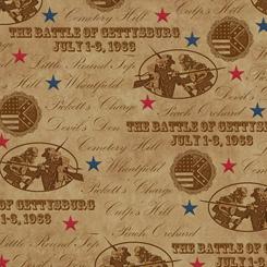Gettysburg - Battle Names<br>Lt. Brown - 22760-A