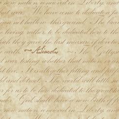 Gettysburg - Gettysburg Address<br>Parchment - 22761-E