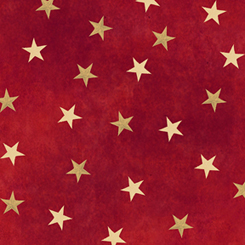 Gettysburg - Stars<br>Colonial Red - 22762-R