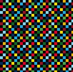 The Steam Team - Multi-color checker board