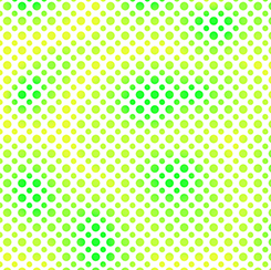 OMBRE DOTS OMBRE DOT LIME
