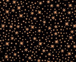 Metals STARS BLACK/COPPER