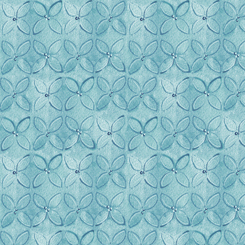 WILD THINGS GEOMETRIC FLOWER Blue (FA-23622-B)