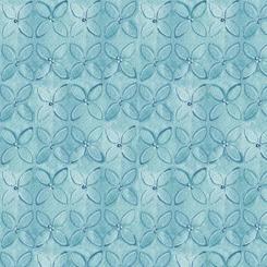 WILD THINGS GEOMETRIC FLOWER Blue (FA-23622-B)